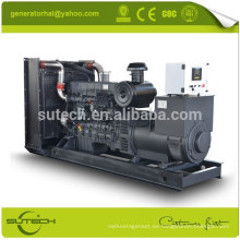 Generador de 250kva accionado por el motor de Shangai de China con precio bajo y buen servicio (venta caliente)