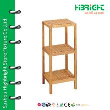 3 tiers wood flooring display stand