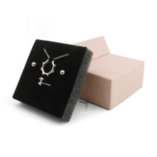 Popular promotional jewelry box ring paper boxes