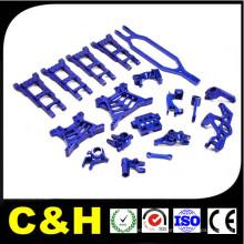 Proceso de torneado y fresado CNC de precisión de piezas de LED de aluminio