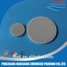 china favo de mel placa de cozimento de cerâmica para peças de infravermelho