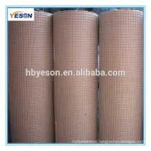 welded wire mesh(iso9001 factory) / 1*1 welded wire mesh / cheap welded wire mesh