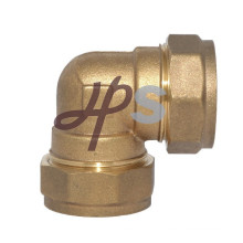 Brass compression coupling