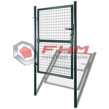 Single Door Metal Patio Gate Stabilt Staket Gate