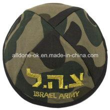 Tarnung Israel Judaica Judentum Armee Kippah Schädel Cap Kippot Yarmulka