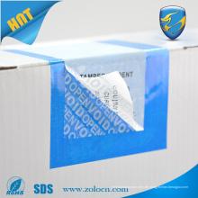 Kundenspezifischer VOID Tamper Evident Security Label Aufkleber
