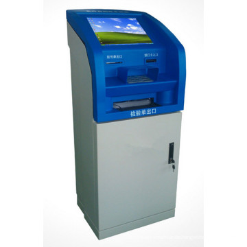 Bargeld-Zahlungs-Terminal-Kiosk / Touch Screen Kiosk-Maschine / Selbstbedienungs-Touch Screen Kiosk