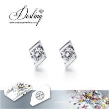 Destino joias cristais de Swarovski brincos brincos de cristais