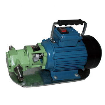 WCB series electric diesel oil portable gear pump