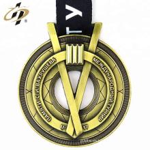 2018 productos promocionales metal 3D repujado recuerdo personalizado medallas