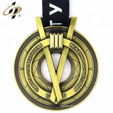2018 Produtos promocionais em metal 3D em relevo lembranças medalhas personalizadas