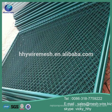 Factory cheap pvc coated chain link wire mesh/diamond wire mesh