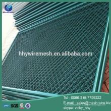 Завод дешевые покрынная PVC ячеистая сеть звена цепи/диаманта ячеистой сети