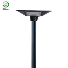 Luz de jardín solar de 120 vatios ip65 para exteriores con control óptico