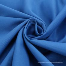 Pas de déformation Coton confortable Tissus en polyester Poplin teintée