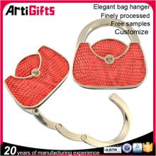 Logo personnalisé nouveau design crochet métallique pour sac à main