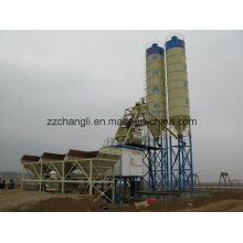 Planta de lote portátil 90m3 / H, planta de mezcla de hormigón móvil