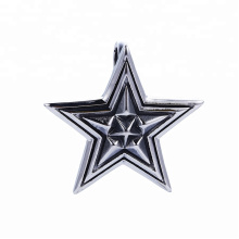 33490 xuping   fashion Stainless Steel jewelry  Gothic design cool Stars shape pendant