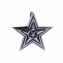 33490 xuping moda jóias de aço inoxidável gótico design legal estrelas forma pingente