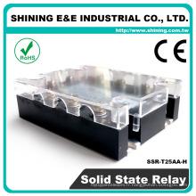 SSR-T25AA-H Solid State Fotek Type 3-phase 24V Alimentation 24VAC Relais CA