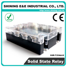 SSR-T25AA-H Solid State Fotek Tipo 3-Phase 24V Power 24VAC AC Relay
