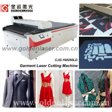 Clothes/Garment/Apparel Laser Cutting Machine with Autocad Software (CJG-160250)