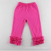 Beliebte Kinder stricken Rüschen Leggings Baby Legging Hosen dünne Mädchen Zuckerguss Hosen
