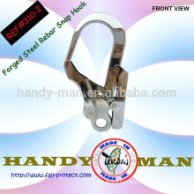 Big Wave Design Forged Steel Rebar Lanyard Hook With Eye
