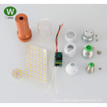 Professional 12w surface mounted led panel light bis driver skd cfl parts