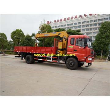 Dongfeng 220HP 8ton Truck Cranes