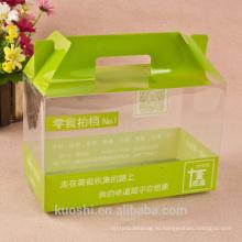 Оптовая печатных прозрачного ПВХ упаковка коробки подарка конфеты