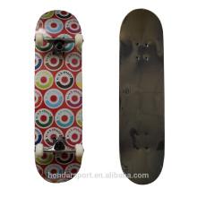 Рекламные новый дизайн мягкий вогнутый клен скейтборд палубы для продажи