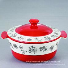 Venta caliente Facotry Made Sopera de cerámica de gres