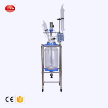 50L Laboratory Chemical Jacked Glass Reactor