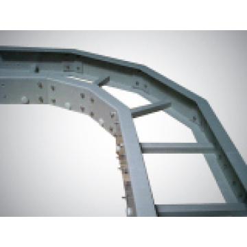 Bandejas de cables FRP // Material de construcción // Puente de cable de fibra de vidrio