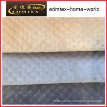Embossed Velvet 100% Polyester Textile Fabric (EDM5167)