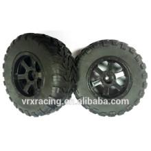 Pneus fabricados na china, pneus para carro de RC 1/10