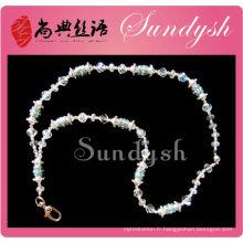 Wholesle Bijoux Bling Cristal Perle Longe Maker De Chine