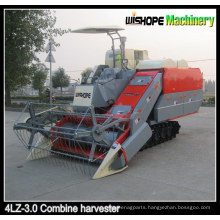 Rice Combine Harvester with Double Treshers