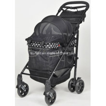 Pet Trolley Cart Cage Carrier Cat Pet Dog Stroller