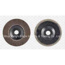 Discos abrasivos de aleación de óxido de calcinación 4.5 '' (cubierta de plástico 24 * 15 mm)