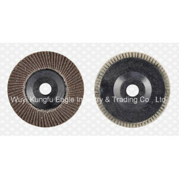 4′′ Calcination Oxide Flap Abrasive Discs (Plastic cover 22*14mm)