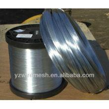 0.34mm alambre galvanizado caliente del hierro para el cable