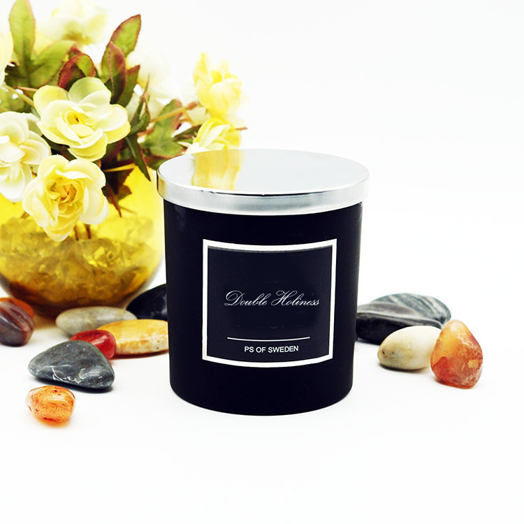 Black Jar Candle 20