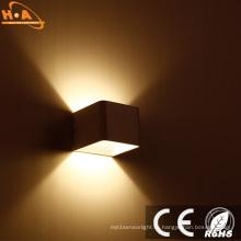 Алюминиевый вверх и вниз светодиодов современный настенный светильник