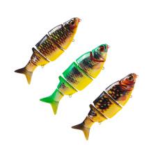 MNL066 Китая оптовый поставщик рыболовных снастей пяти секции сочлененной рыболовные приманки гольян