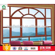 Wanjia fábrica venda quente canto bunda janela de vidro comum Wanjia fábrica venda quente canto bunda janela de vidro comum