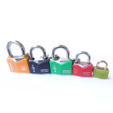 Iron Rhombic Type Curved Plastic Waterproof Cover Shengli Padlocks Keyed Alike