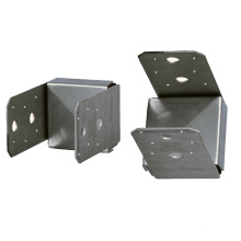 OEM Metal 4*4 Connection Base Connector Aluminum Alloy Plate Sheet Fabrications Stamping
