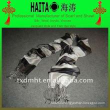 black fashion silk scarf